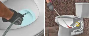 Чем и как прочистить унитаз самостоятельно