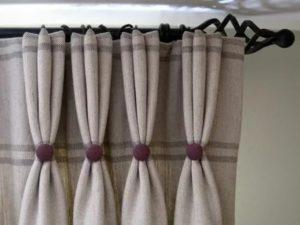 Как сделать складки на шторах своими руками?