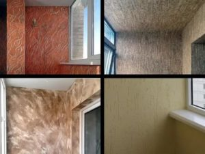 Декоративная штукатурка для балкона какую выбрать
