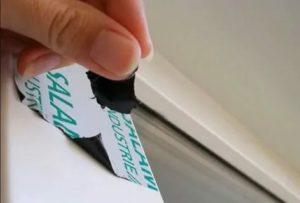 Как удалить липкую ленту с пластиковых окон