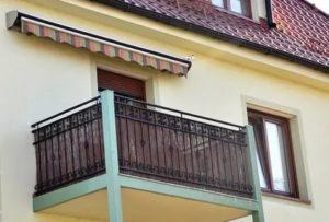 Как закрыть балкон от дождя