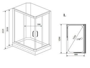 Прямоугольная душевая кабина: выбор, необходимые инструменты и монтаж