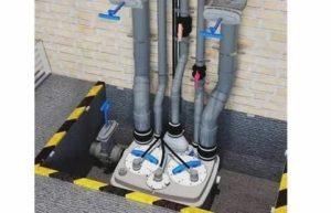 Канализационный бытовой насос: установка, особенности, преимущества