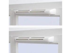 Как установить вентиляционный клапан для пластиковых окон