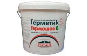 Пароизоляционный герметик для окон ПВХ