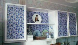 Как обновить старый кухнонный гарнитур: 2 интересных идеи
