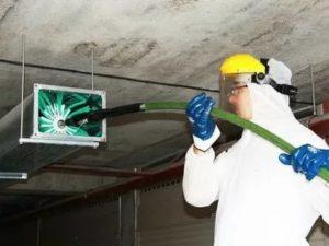 Очистка вентиляции от различных загрязнений с использованием гибкого вала