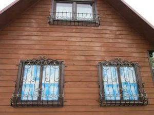 Съемные решетки на окна для дачи