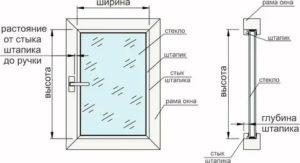 Как замерить рулонные шторы на пластиковые окна